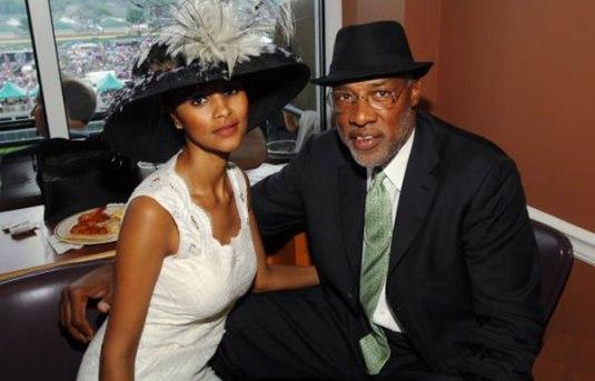 older black man younger black woman